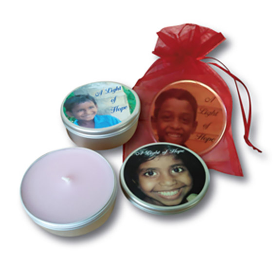 Light of Hope scented candles