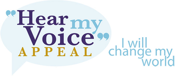 Hear my voice appeal. I will change my world
